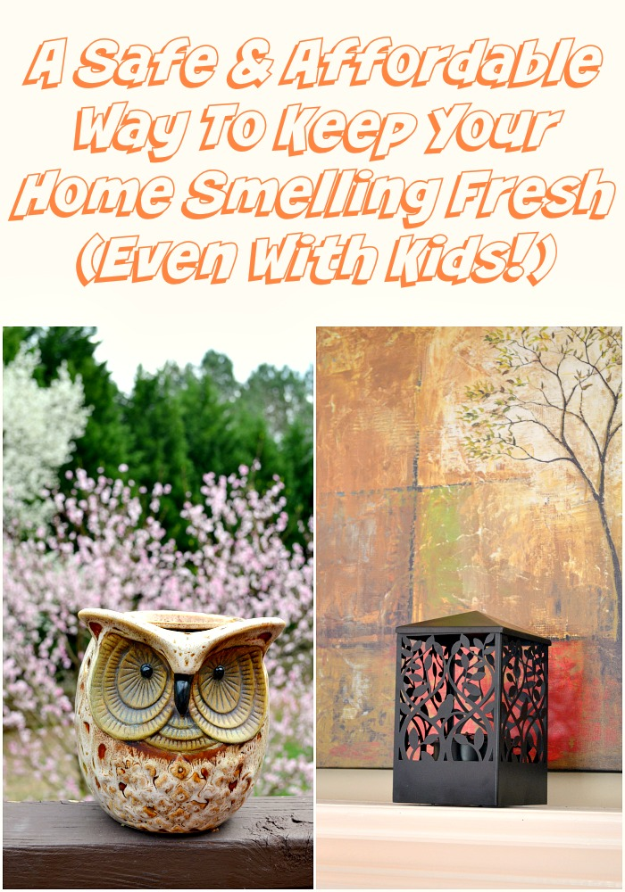 A Safe & Affordable Way To Keep Your Home Smelling Fresh (Even With Kids!)
