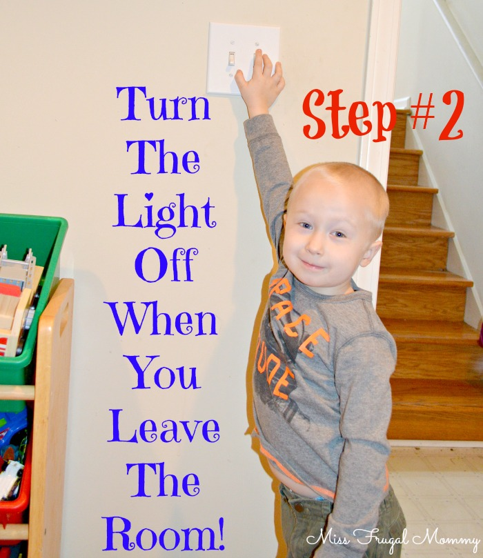 Want Kids Lights To Turn Off Leave Room