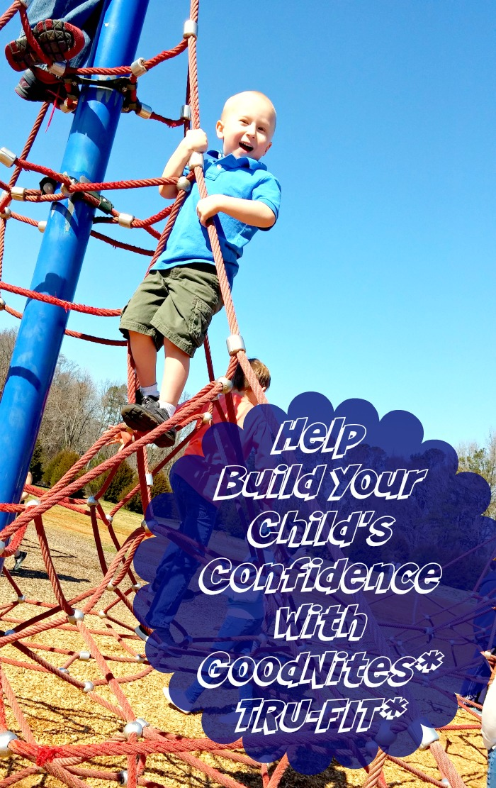 Help Build Your Child's Confidence With GoodNites* TRU-FIT*