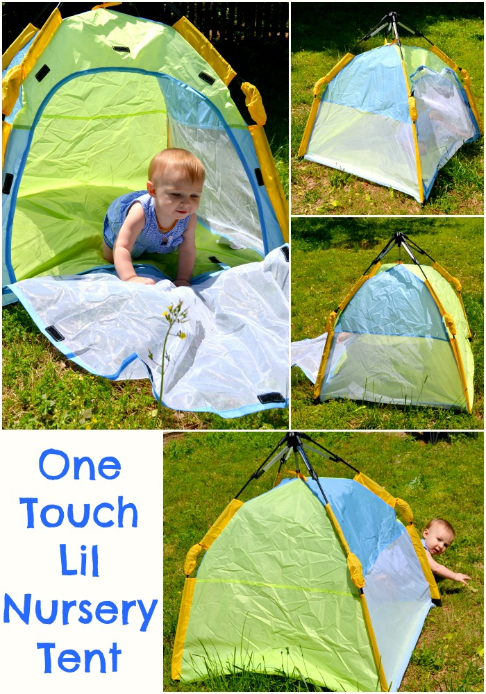 One Touch Lil Nursery Tent A Must Have Summer Item For Baby  sc 1 st  Miss Frugal Mommy & One Touch Lil Nursery Tent: A Must Have Summer Item For Baby ...