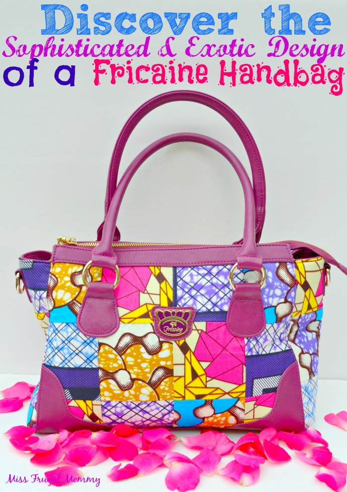 Discover the Sophisticated & Exotic Design of a Fricaine Handbag #FricaineHandbags