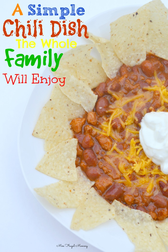 A Simple Chili Dish The Whole Family Will Enjoy #HormelChiliNation