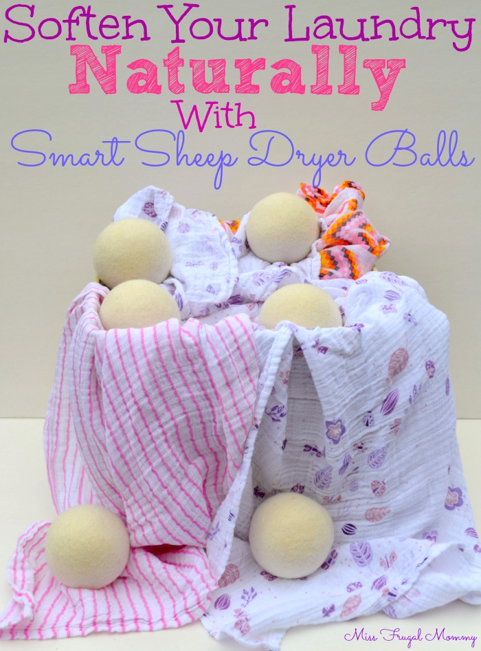 Soften Your Laundry Naturally With Smart Sheep Dryer Balls