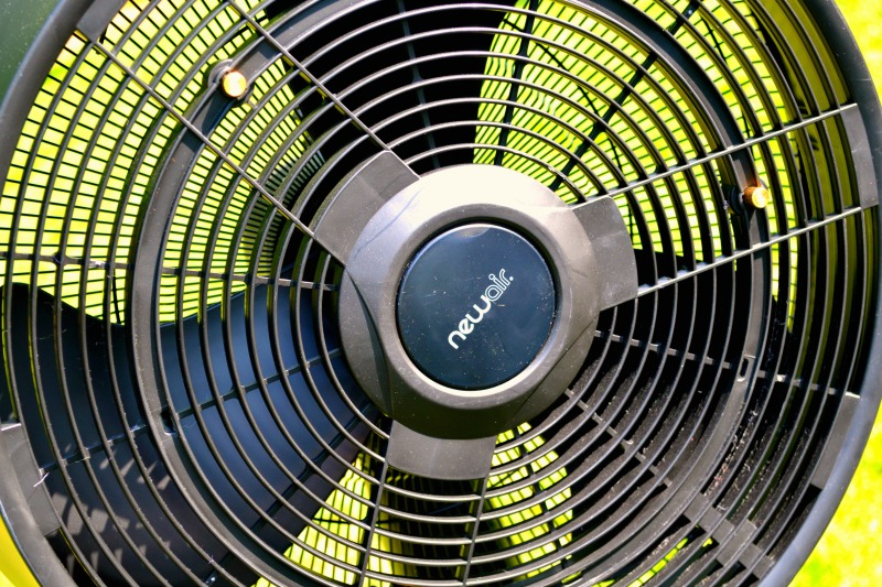 Black Outdoor Misting Fan Helps You To Stay Cool On A Hot Day. Not Only Is  It A Stylish Misting Fan To Add To Your Outdoor Deck, ...