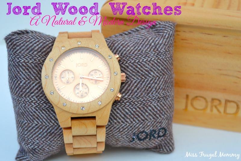 Jord Wood Watches: A Natural & Modern Design