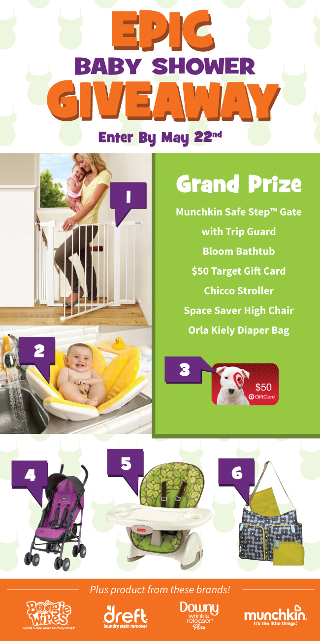 Enter To Win The Epic Baby Shower Giveaway Miss Frugal Mommy