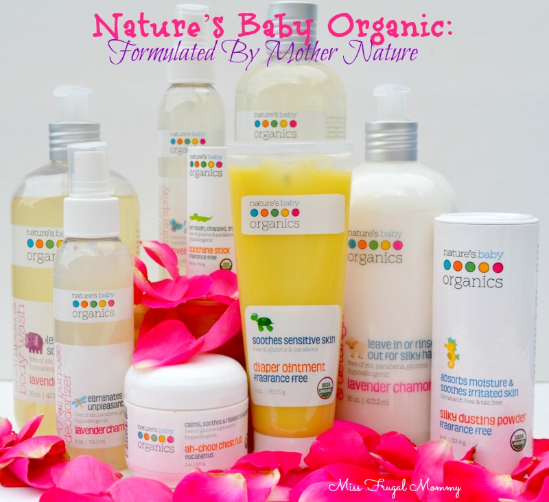 Nature's Baby Organic: Formulated By Mother Nature
