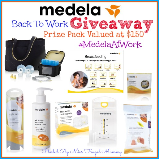 Medela Back To Work Giveaway #MedelaAtWork