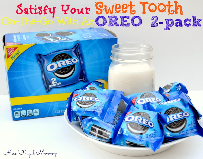 Satisfy Your Sweet Tooth On-The-Go With An OREO 2-pack