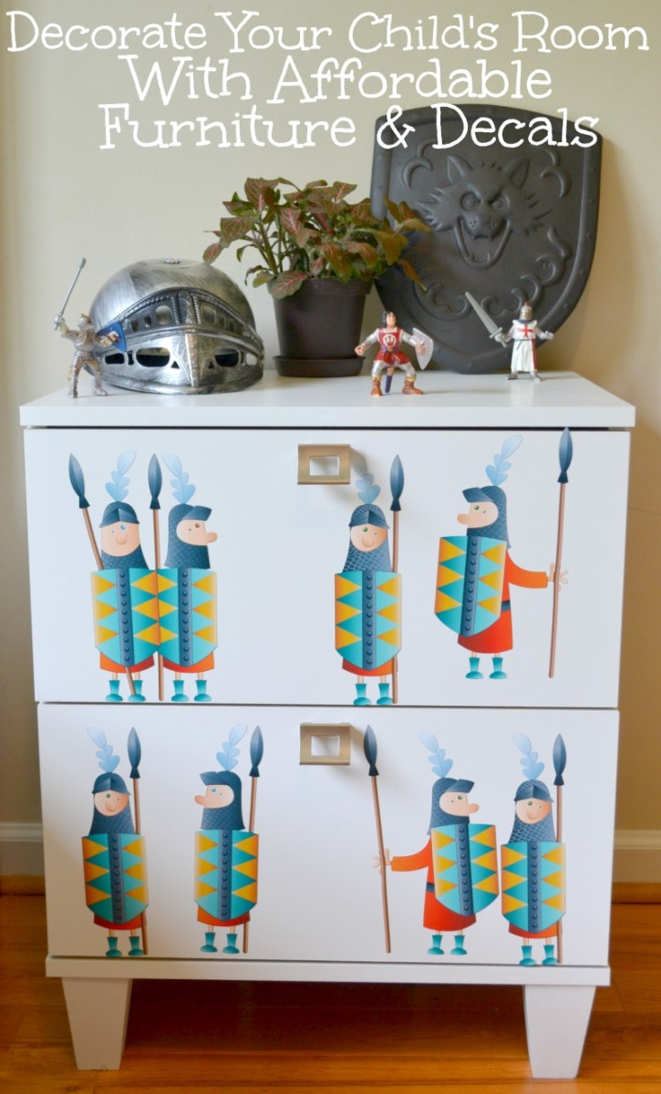 Decorate Your Child's Room With Affordable Furniture & Decals