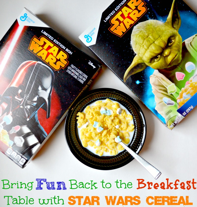 Bring Fun Back to the Breakfast Table with Star Wars Cereal
