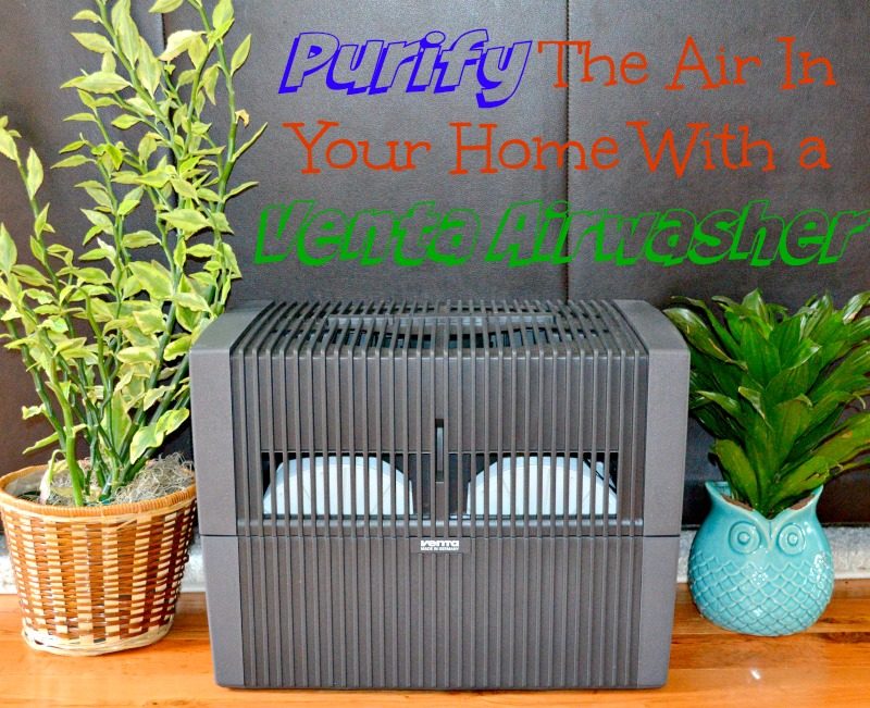 Purify The Air In Your Home With a Venta Airwasher