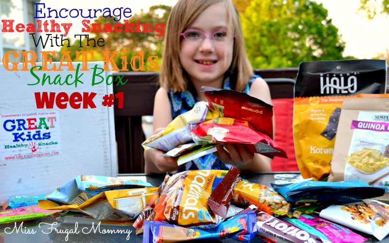 Encourage Healthy Snacking With The GREAT Kids Snack Box