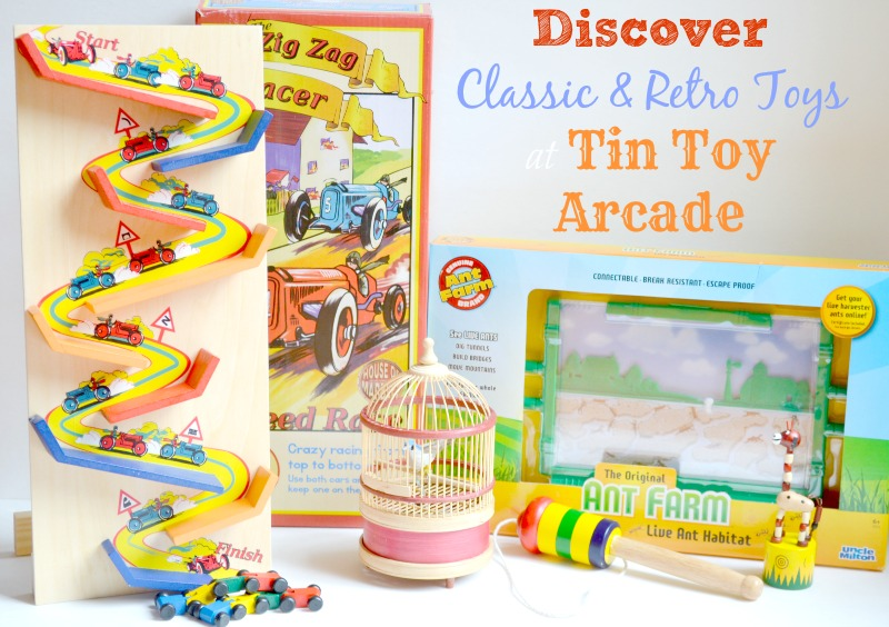 Discover Classic & Retro Toys at Tin Toy Arcade