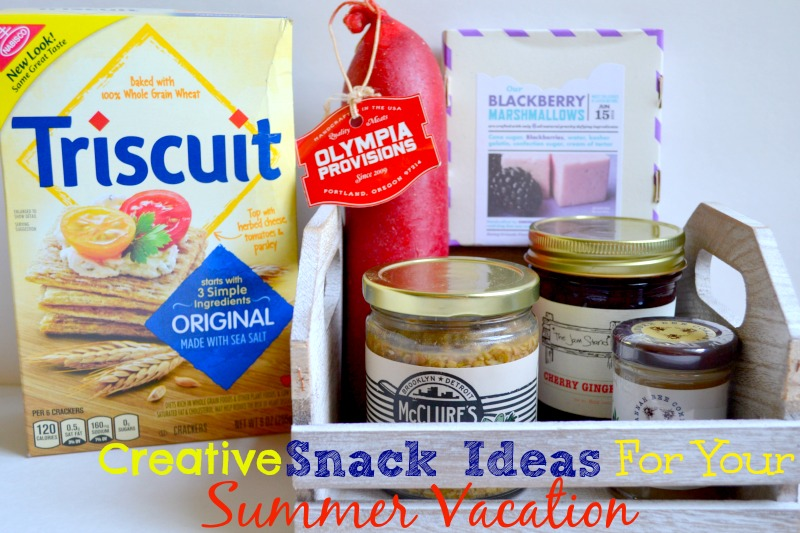 Creative Snack Ideas For Your Summer Vacation