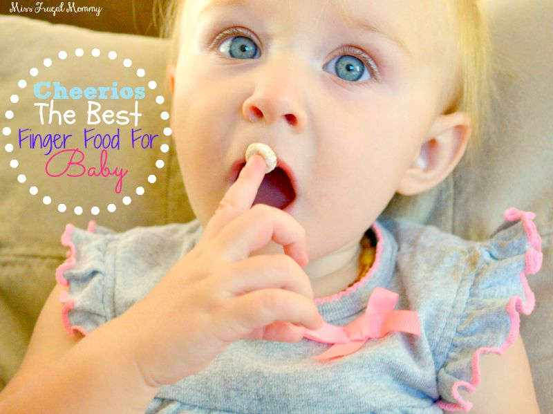 Cheerios: The Best Finger Food For Baby