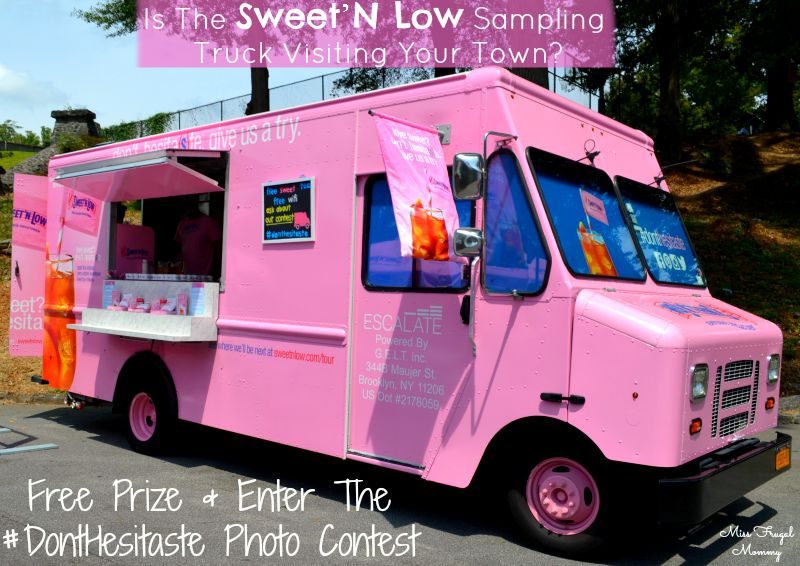 Is The Sweet'N Low Sampling Truck Visiting Your Town?