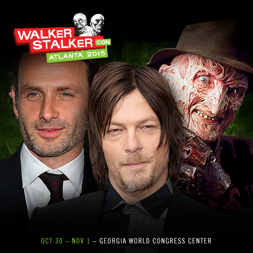 Will You Be Attending Walker Stalker Con Atlanta 2015?