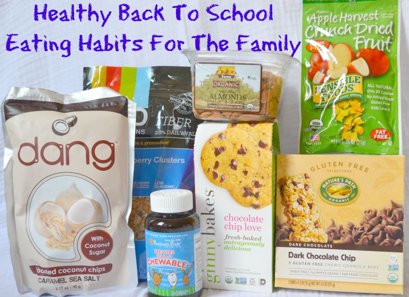 Healthy Back To School Eating Habits For The Family