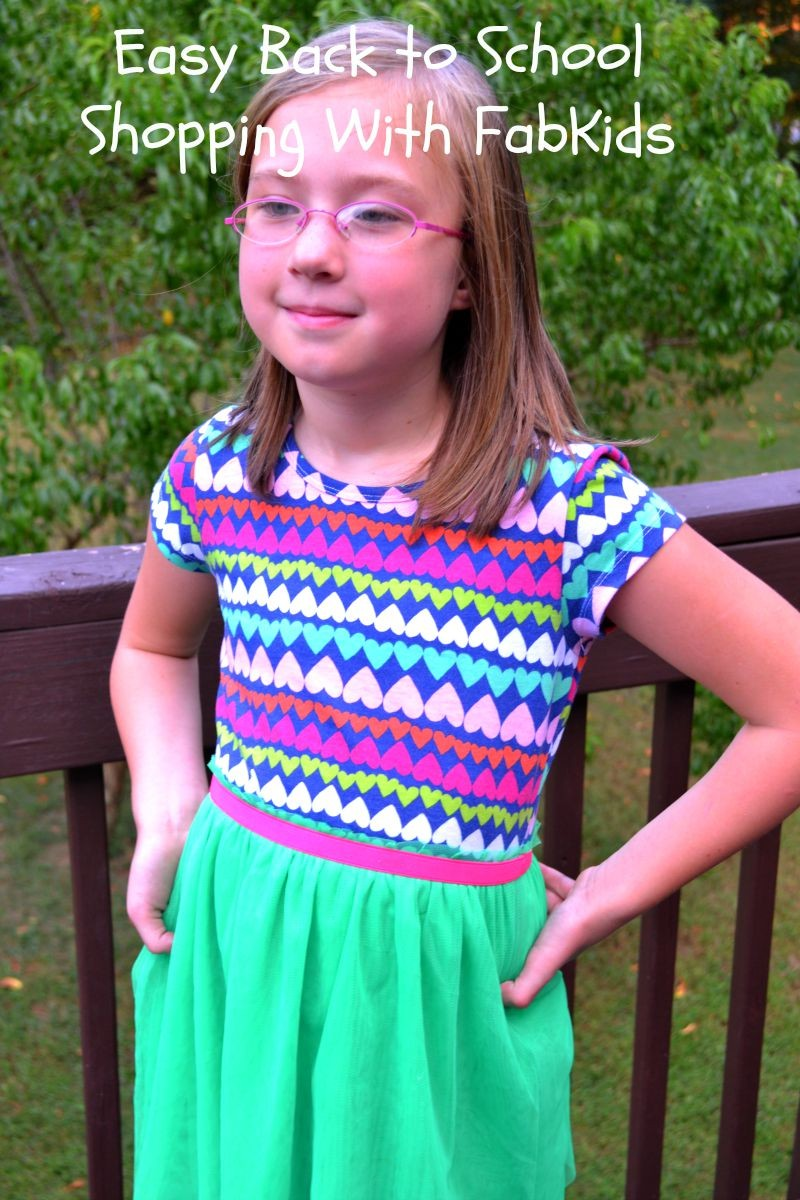Easy Back to School Shopping With FabKids