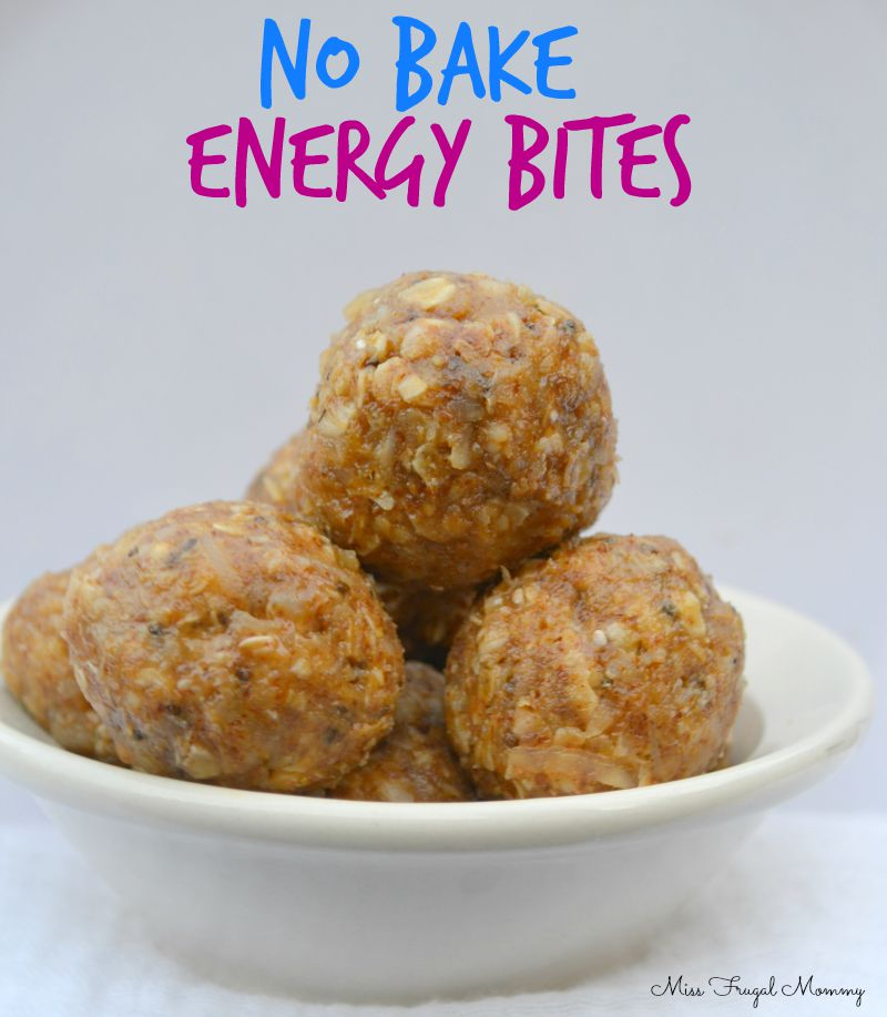 Easy After School Snack Ideas {Plus No Bake Energy Bites Recipe}