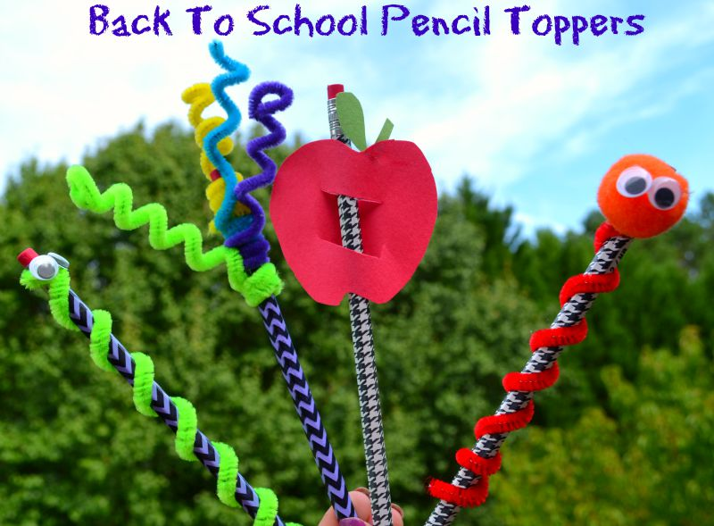 Osh Kosh B'Gosh Back To School Fashion & Pencil Topper Craft