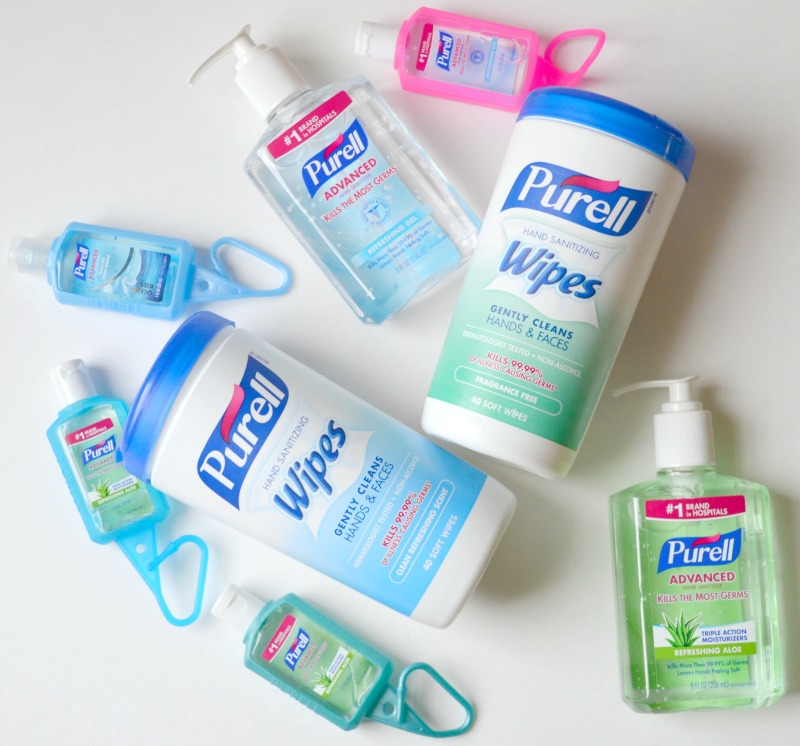 Fighting Back Germs This School Year With Purell