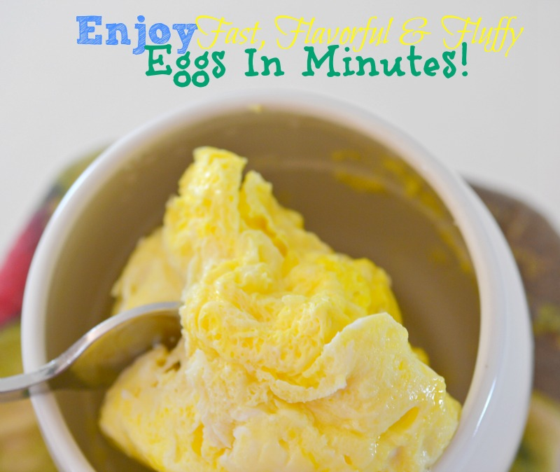 Enjoy Fast, Flavorful & Fluffy Eggs In Minutes!