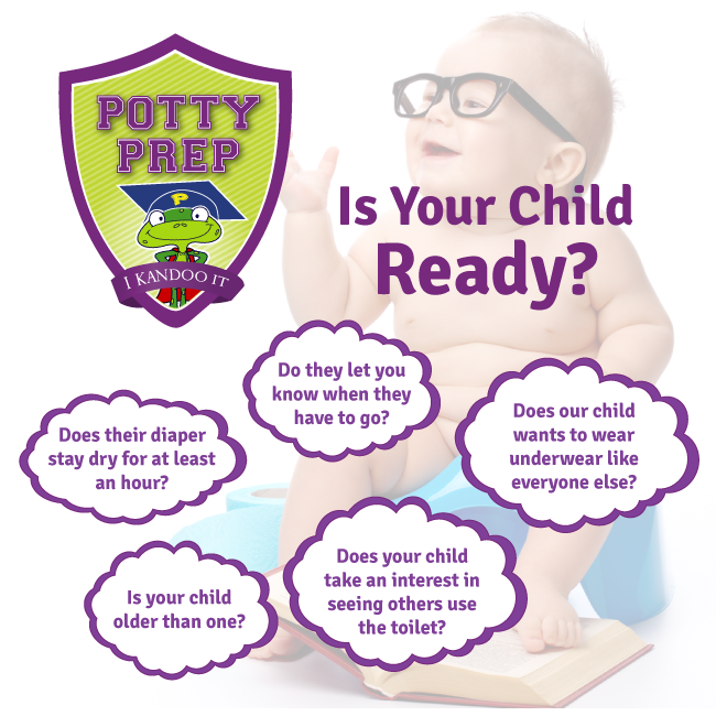 6 Signs Your Child is Ready to Start Potty Training