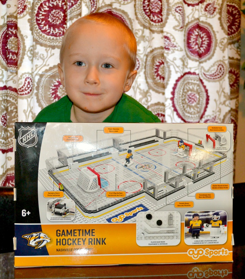 Build The Ultimate Hockey Rink With OYO Sports!