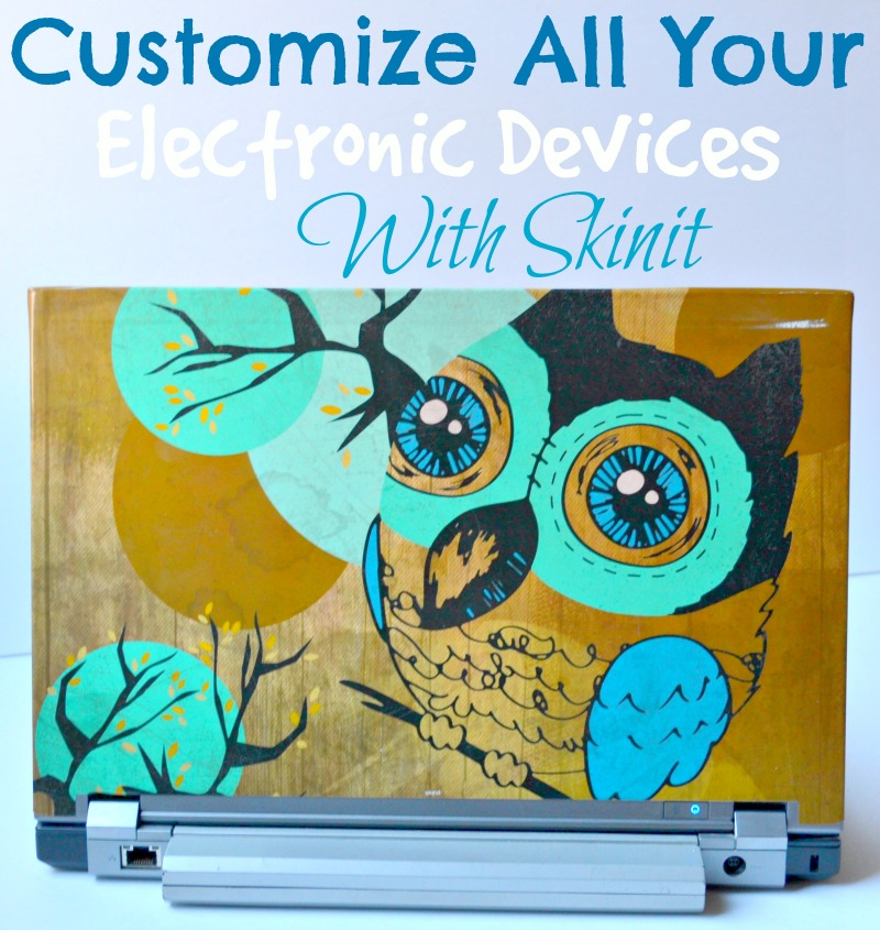 Customize All Your Electronic Devices With Skinit