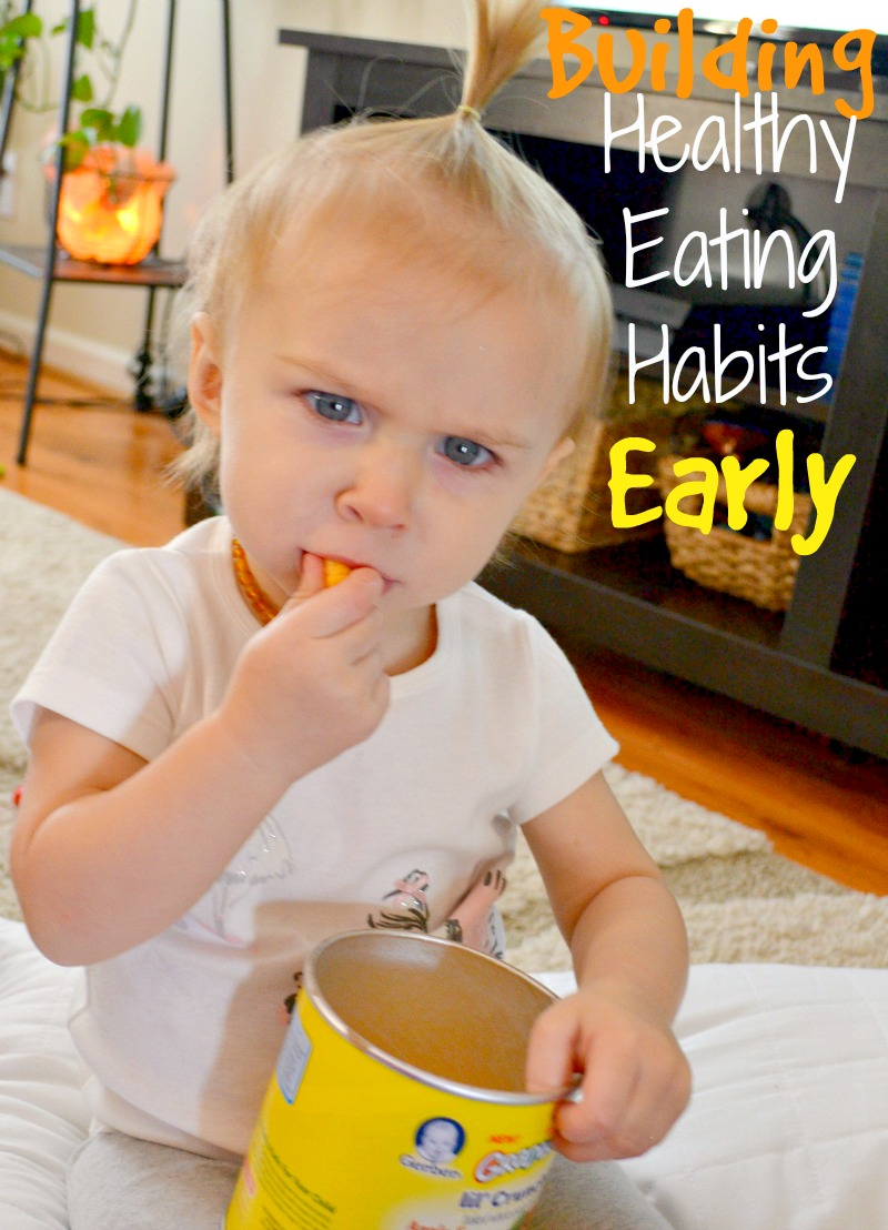 Building Healthy Eating Habits Early