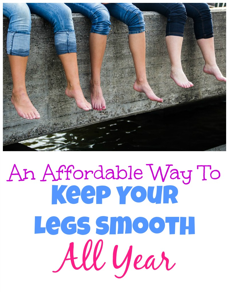 An Affordable Way To Keep Your Legs Smooth All Year