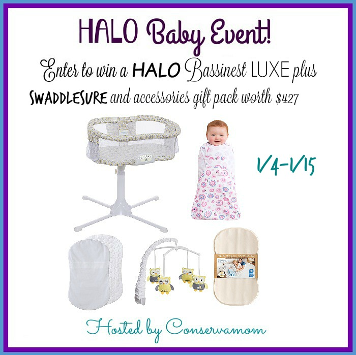 HALO Bassinest LUXE & Accessories Prize Pack Giveaway