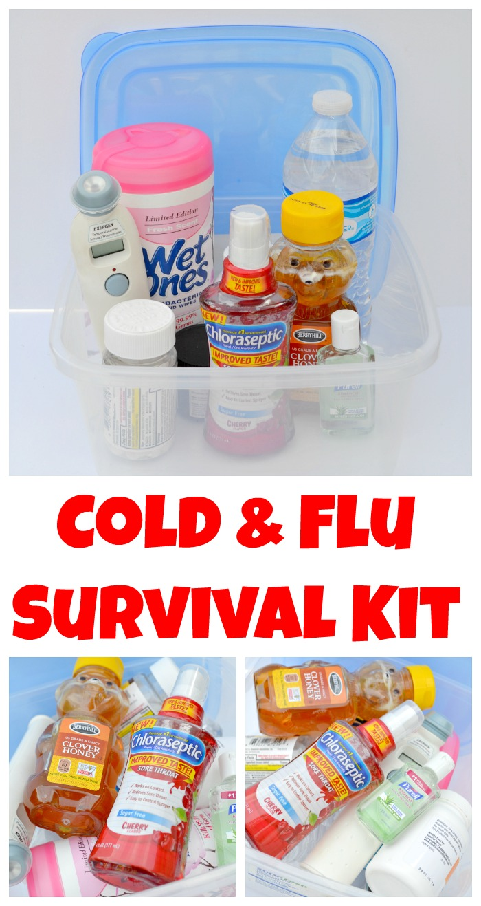 Create Your Own Cold & Flu Survival Kit
