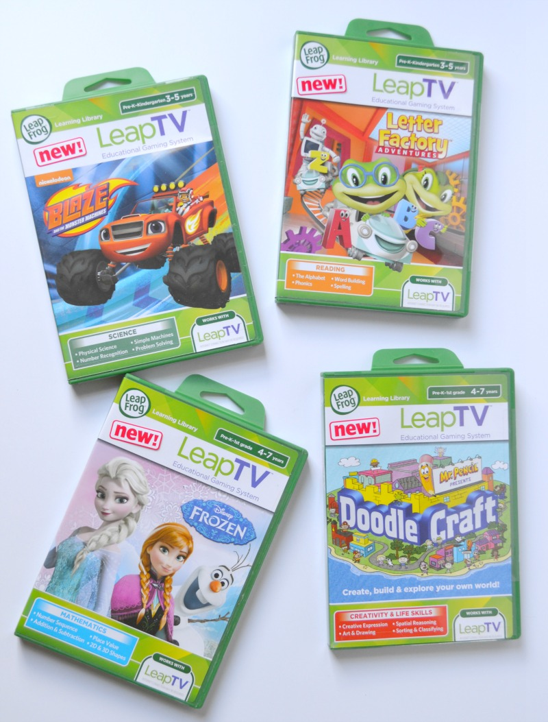Get Up, Get Moving & Get Learning With LeapTV