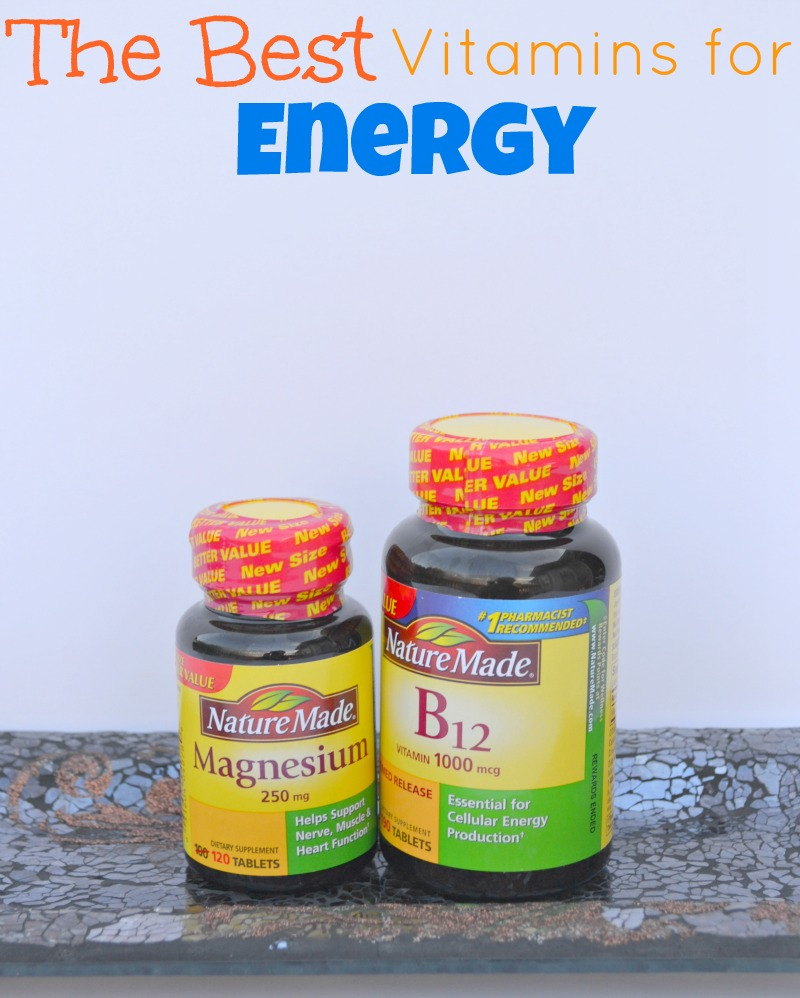 Vitamins For Energy >> The Best Vitamins For Energy Miss Frugal Mommy