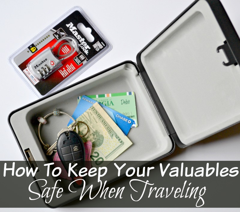 How To Keep Your Valuables Safe When Traveling