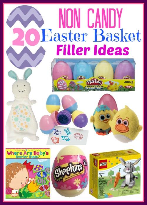 20 Non Candy Easter Basket Filler Ideas