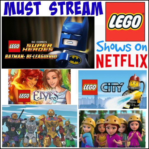 Must Stream LEGO Shows On Netflix