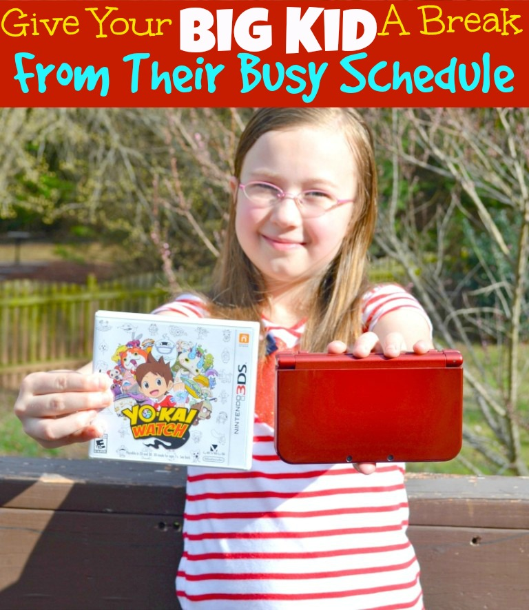 Give Your Big Kid A Break From Their Busy Schedule