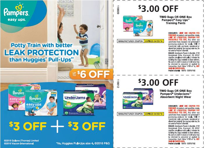 Pampers Is Offering BIG Savings In Sunday's Paper!