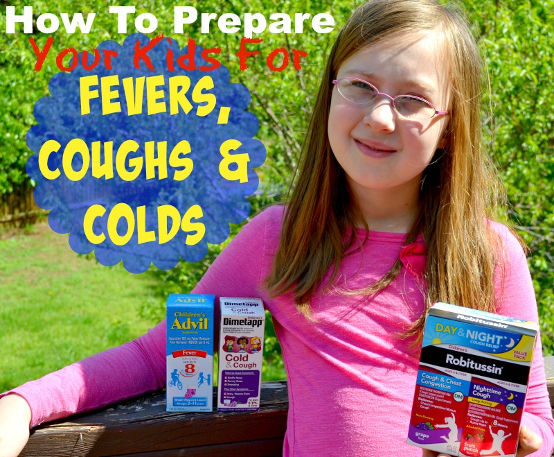 How To Prepare Your Kids For Fevers, Coughs & Colds