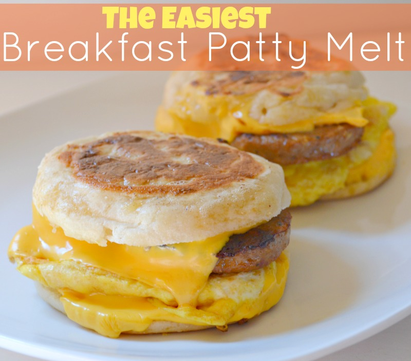 The Easiest Breakfast Patty Melt Recipe