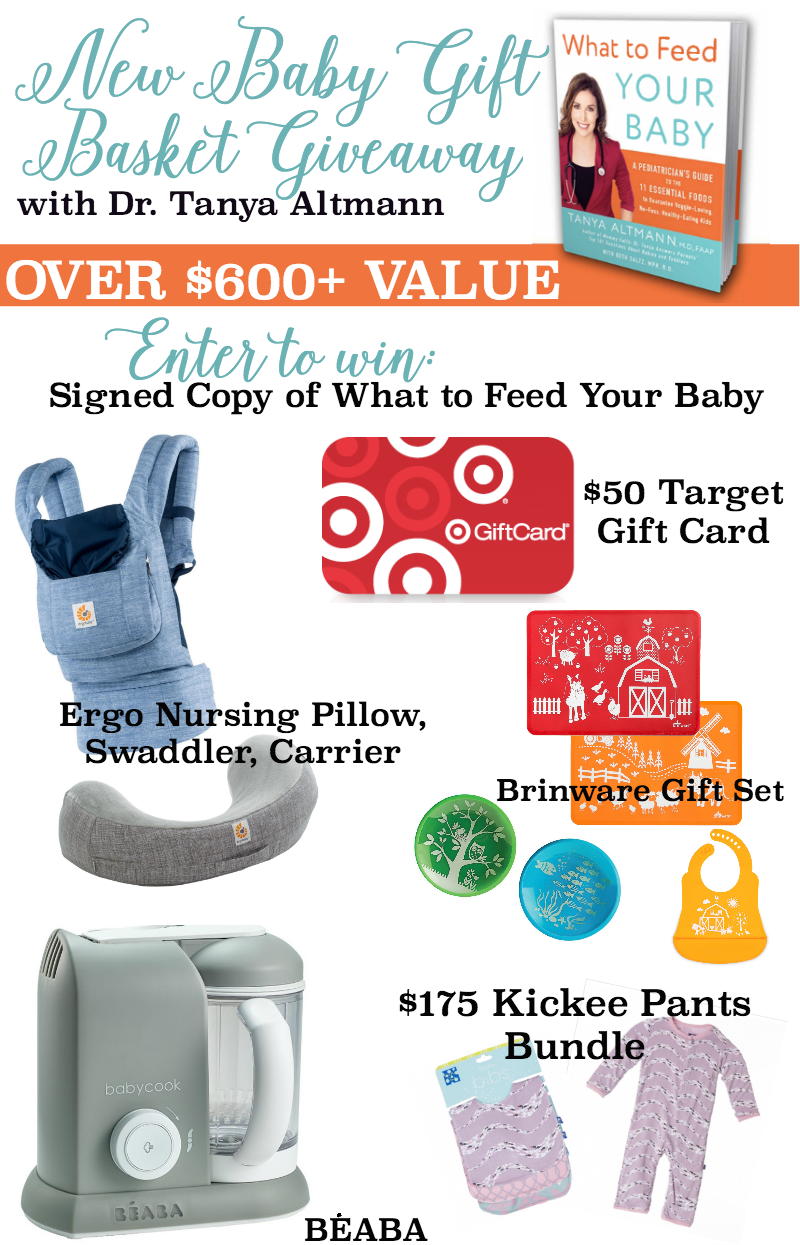 What To Feed Your Baby Gift Basket Giveaway