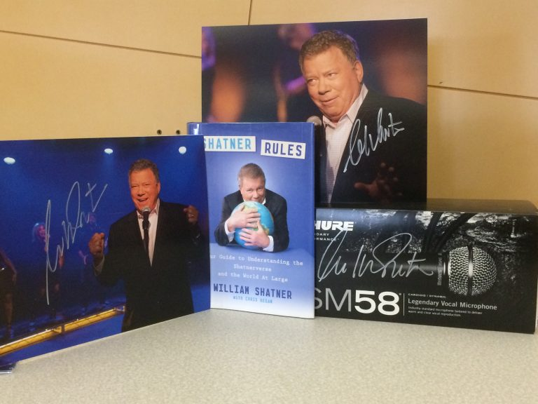 Create A Personalized Shout-Out By William Shatner (Plus An Amazing Giveaway!)