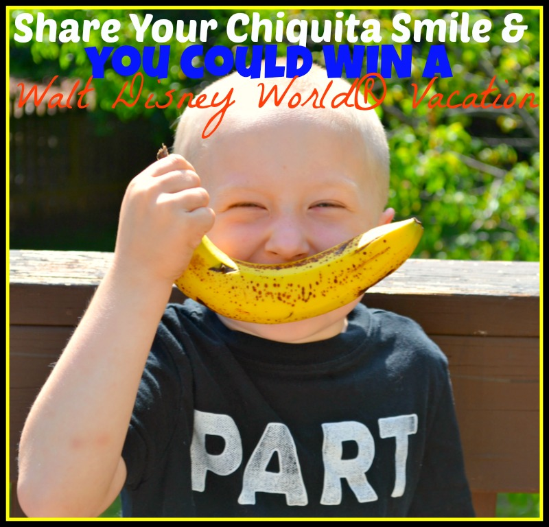 You Could Win Walt Disney World® Vacation From Chiquita