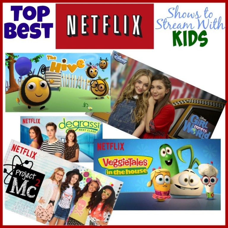 Top Best Netflix Shows to Stream With Kids