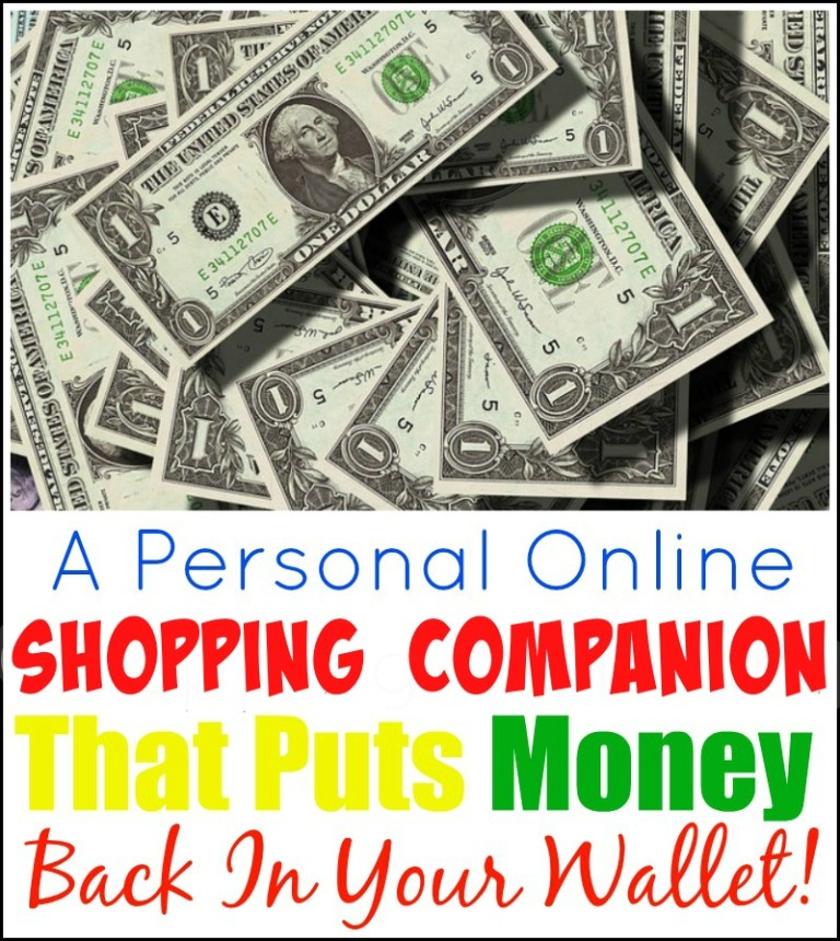 A Personal Online Shopping Companion That Puts Money Back In Your Wallet!
