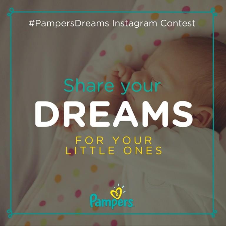 Enter The Pampers Dreams Instagram Contest